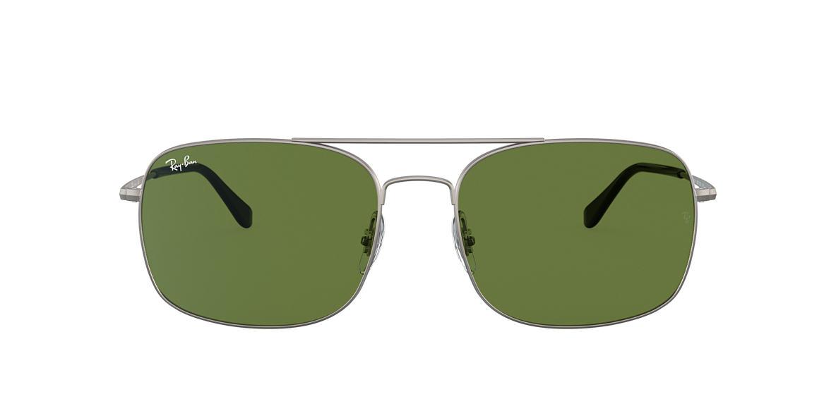 Gunmetal RB3611 Verde  60