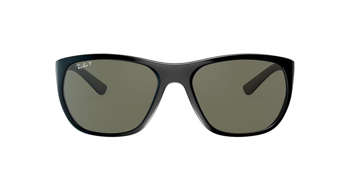 Black RB4307 Green  61