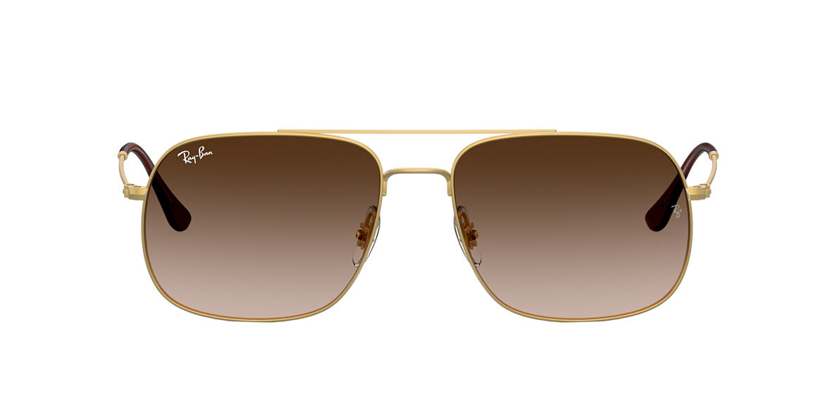 Gold RB3595 Brown  59
