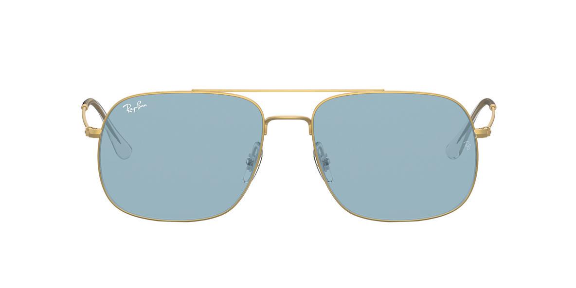 Gold RB3595 Blue  59