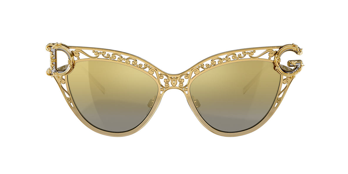 Gold DG2239 Brown Gradient Mirror  54