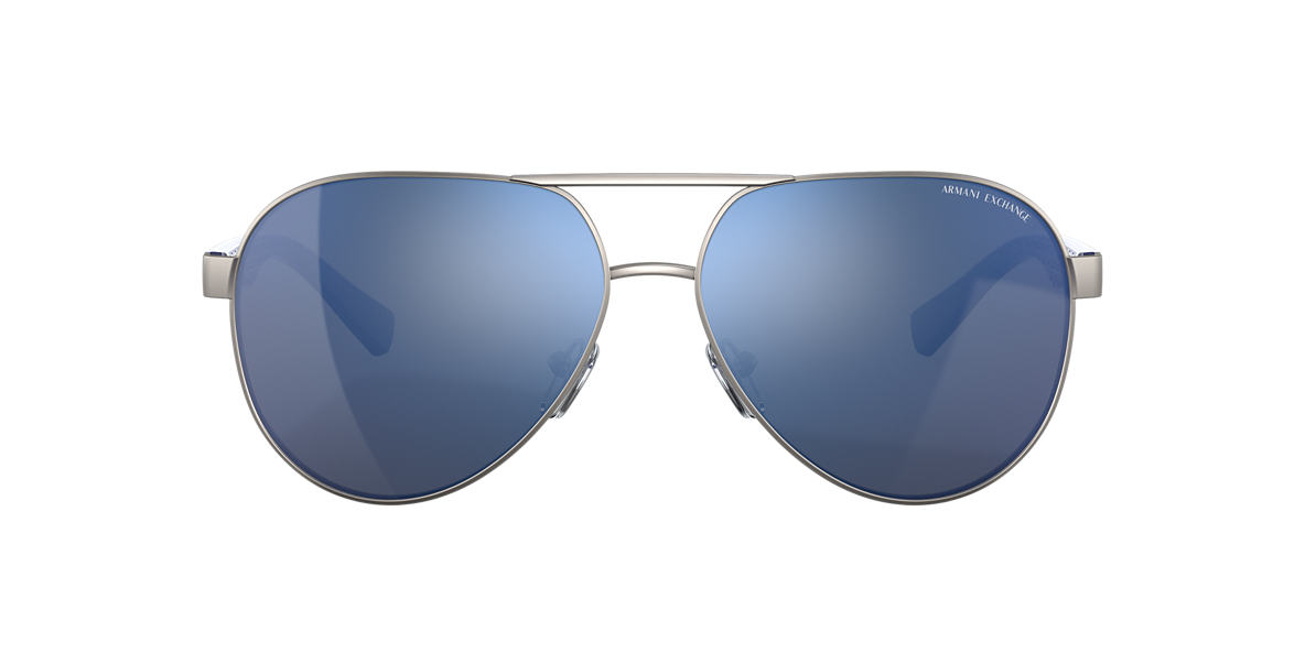 Gunmetal AX2031S Blue Mirror