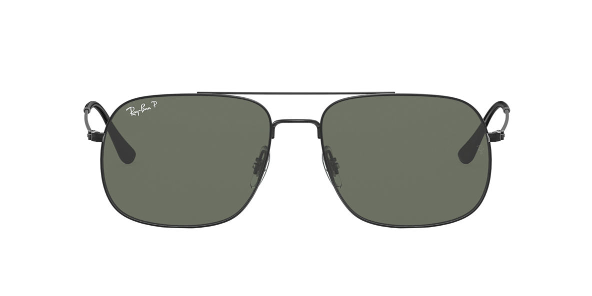 Noir RB3595 Vert  59