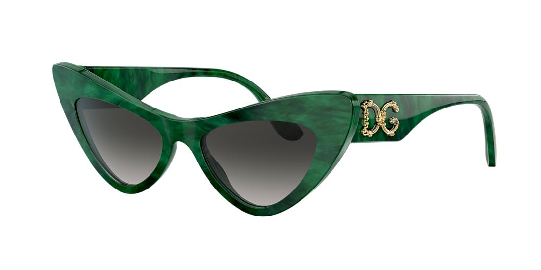 Dolce And Gabbana Woman  DG4368 -  Frame color: Green, Lens color: Grey-Black