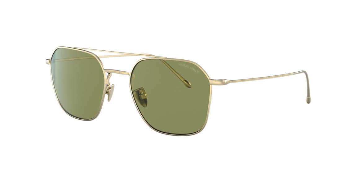 Giorgio Armani Man  AR6095T -  Frame color: Gold, Lens color: Green