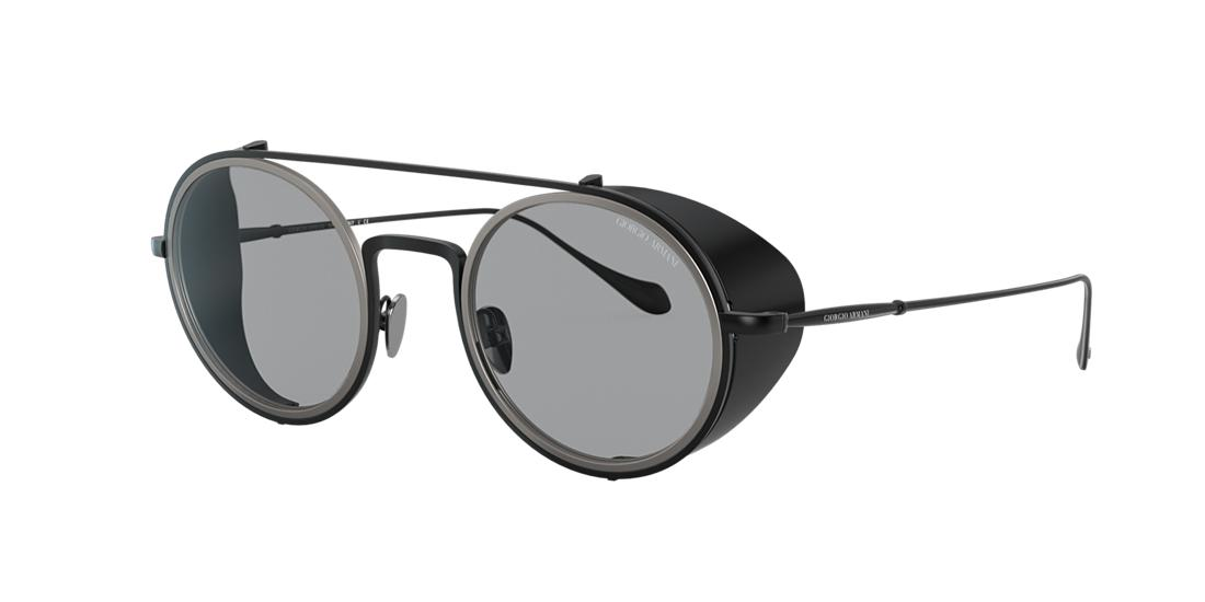 Giorgio Armani Man  AR6098 -  Frame color: Matte Black, Lens color: Grey-Black