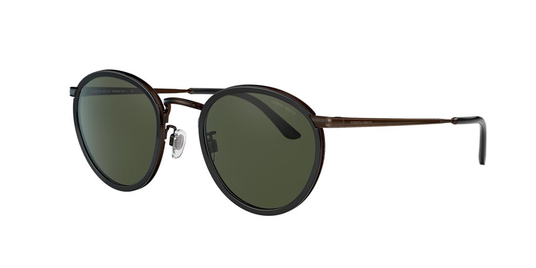 Giorgio Armani Man  AR 101M -  Frame color: Black, Lens color: Green