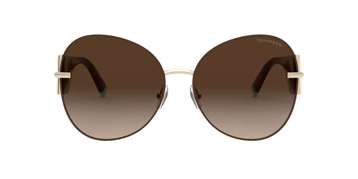 Gold TF3069 Tiffany T Brown Gradient