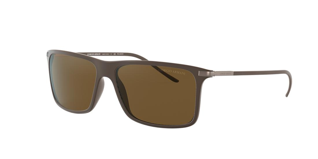 Giorgio Armani Man  AR8034 -  Frame color: Brown, Lens color: Brown