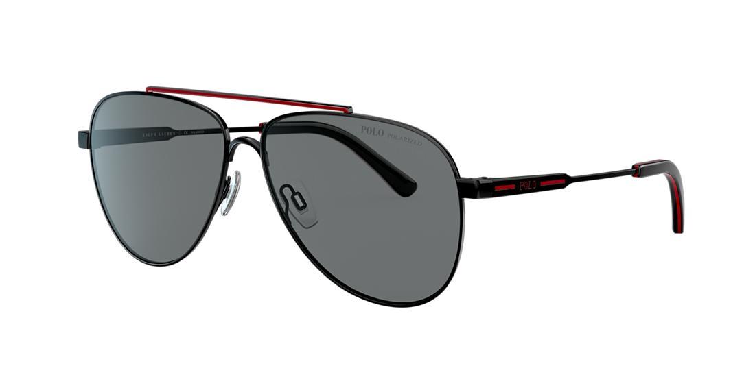 Polo Ralph Lauren Man  Ph3126 In Grey-black