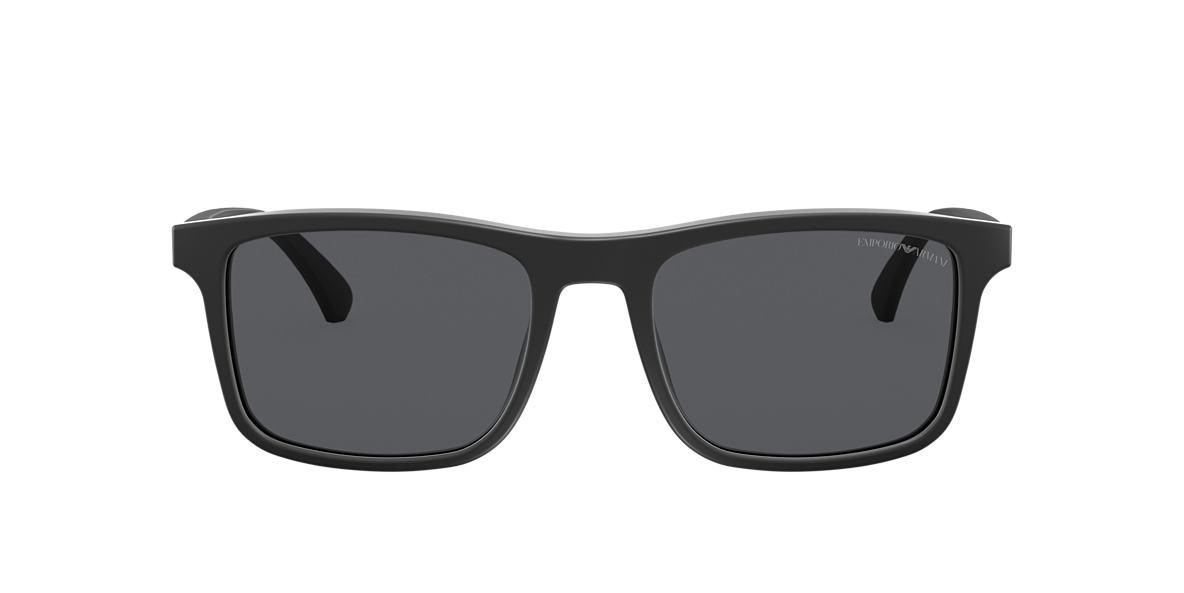 Matte Black EA4137 Grey-Black