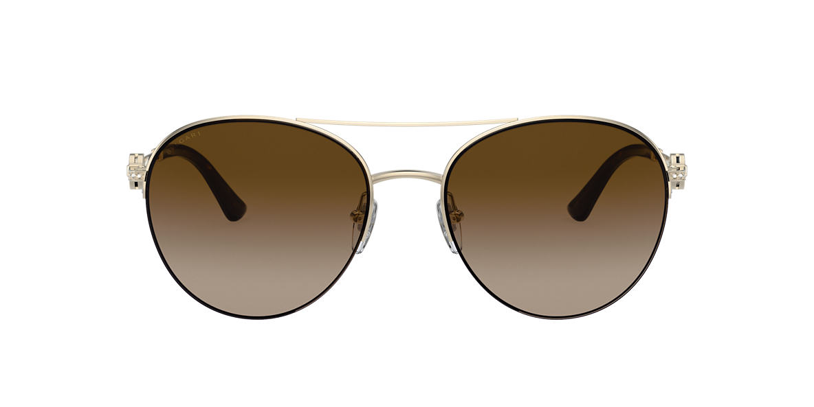 Oro BV6132B Bvlgari Brown Gradient