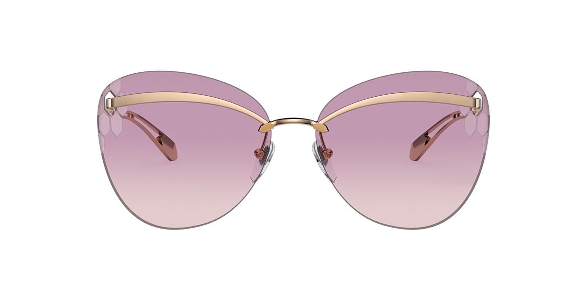 Pink Gold BV6130 Serpenti Brown Gradient