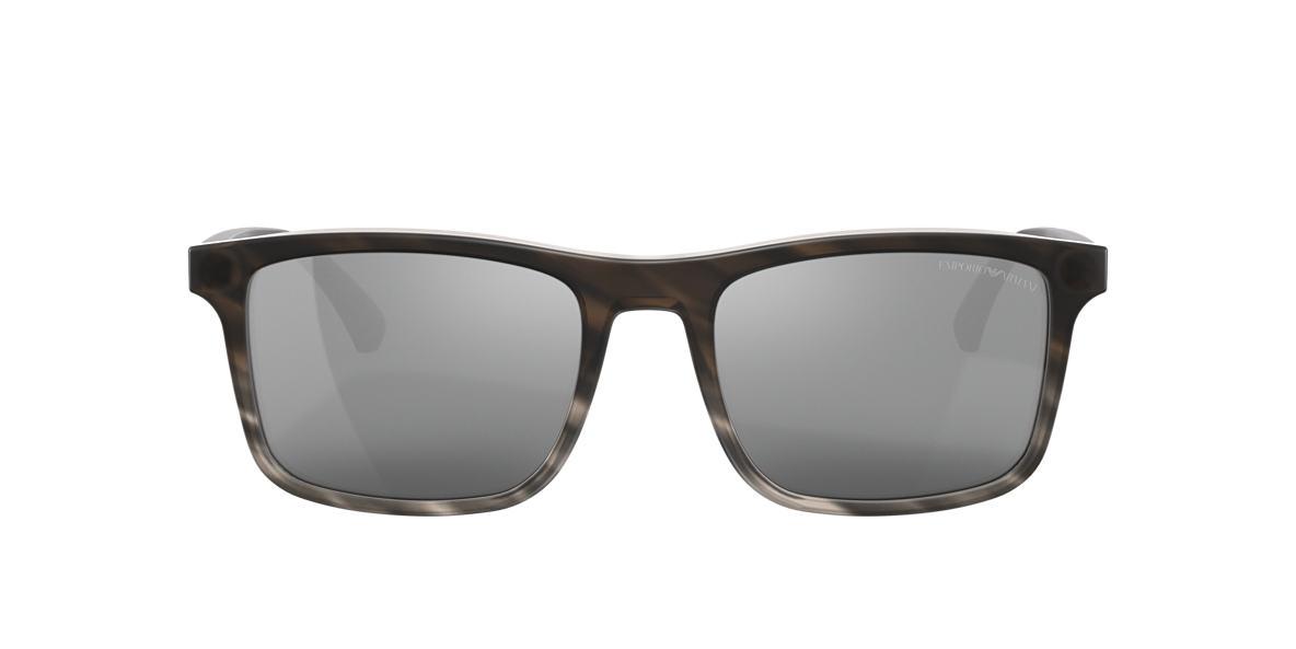 Brown EA4137 Silver