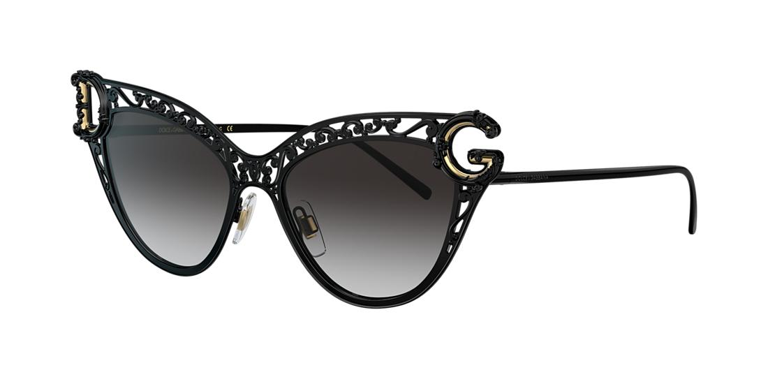 Dolce And Gabbana Woman  DG2239 -  Frame color: Black, Lens color: Grey-Black