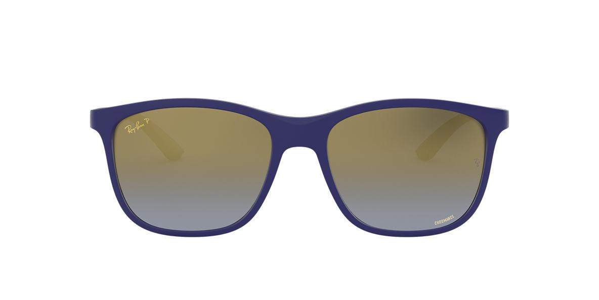 Blue RB4330CH CHROMANCE Blue Mirror  56
