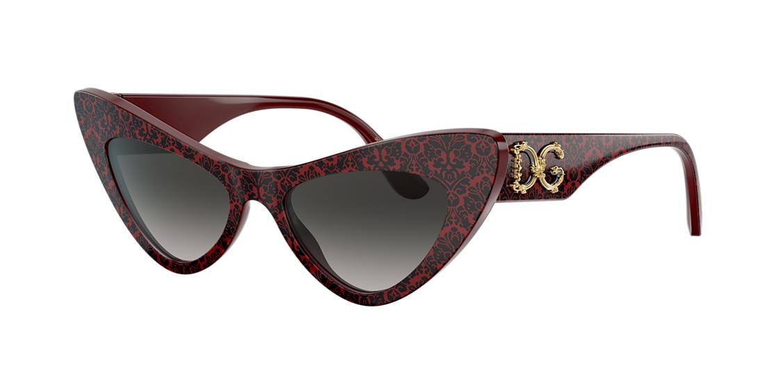 Dolce And Gabbana Woman  DG4368 -  Frame color: Bordeaux, Lens color: Grey-Black