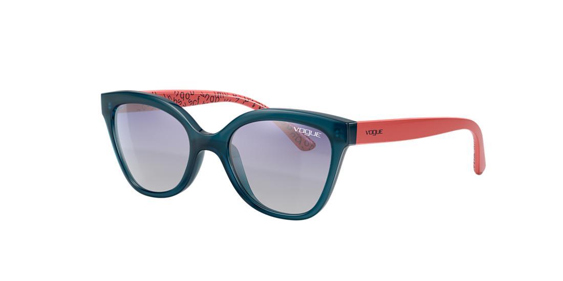 Vogue Eyewear Unisex  Vj2001 In Blue Gradient Mirror