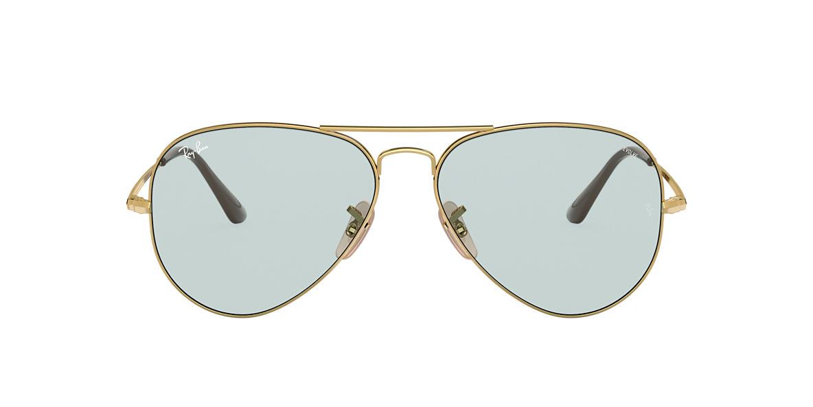 Gold RB3689 SOLID EVOLVE Blue  58