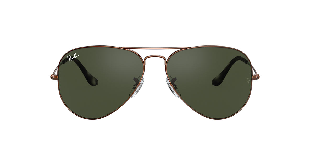 Brown RB3025 AVIATOR CLASSIC Green  58