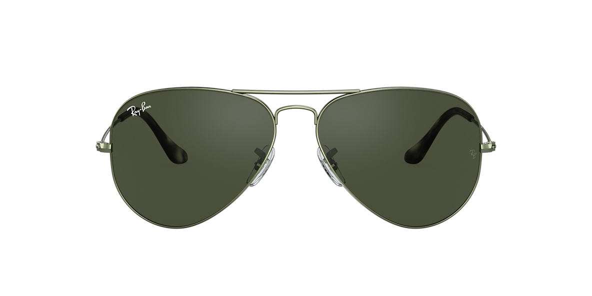 Green RB3025 AVIATOR CLASSIC Green  62