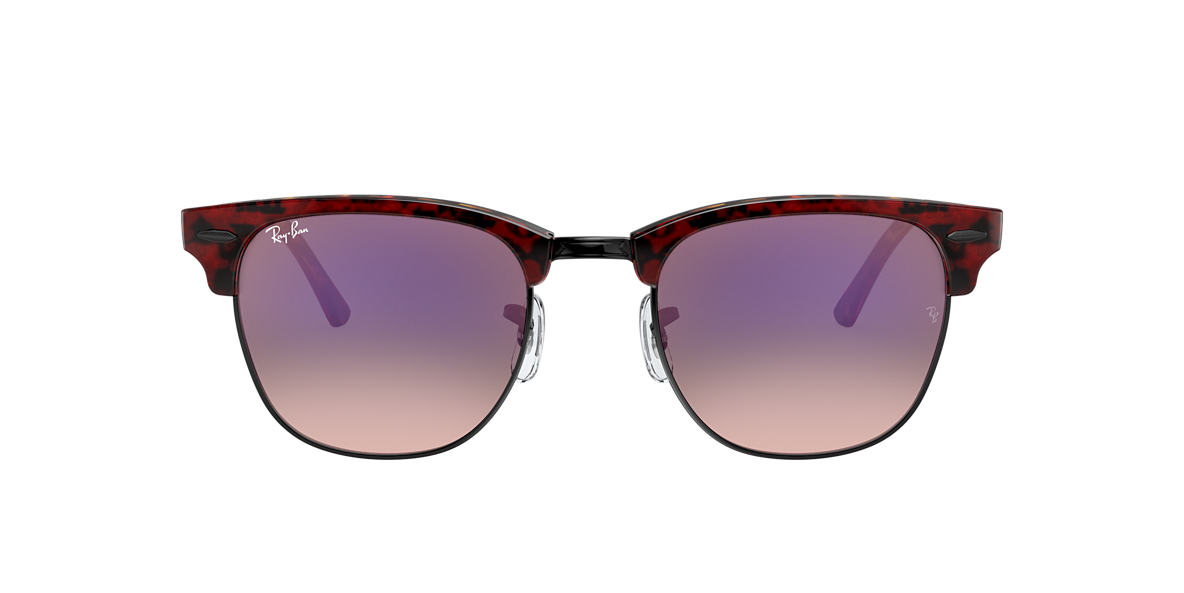 Tortoise RB3016 CLUBMASTER COLOR MIX Violet  51