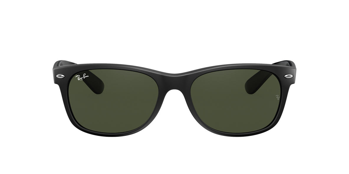 Negro RB2132 NEW WAYFARER COLOR MIX Verde  55