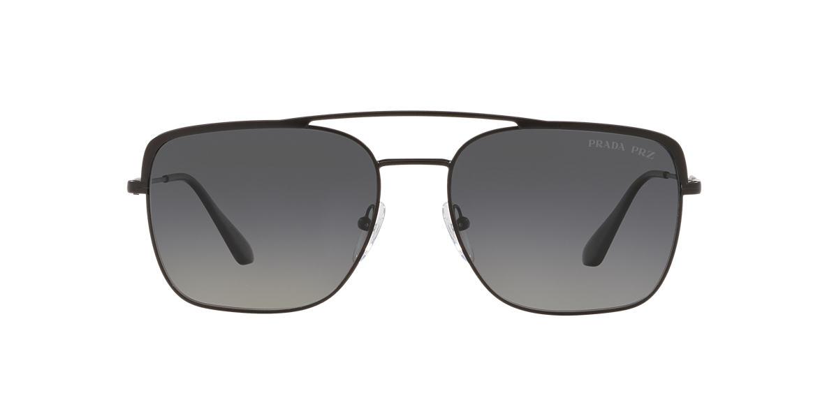 Matte Black PR 53VS Grey-Black