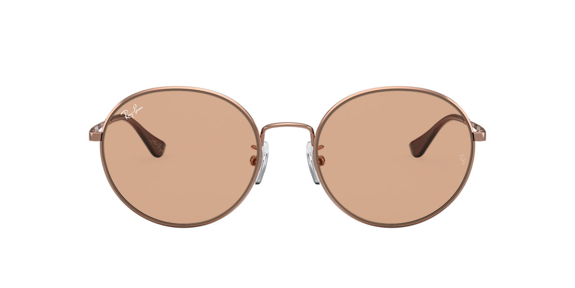Bronze-Copper RB3612 TEAM WANG X RAY-BAN Brown  56