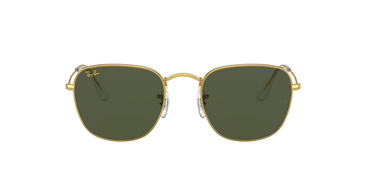 Gold RB3857 FRANK LEGEND GOLD Green  51