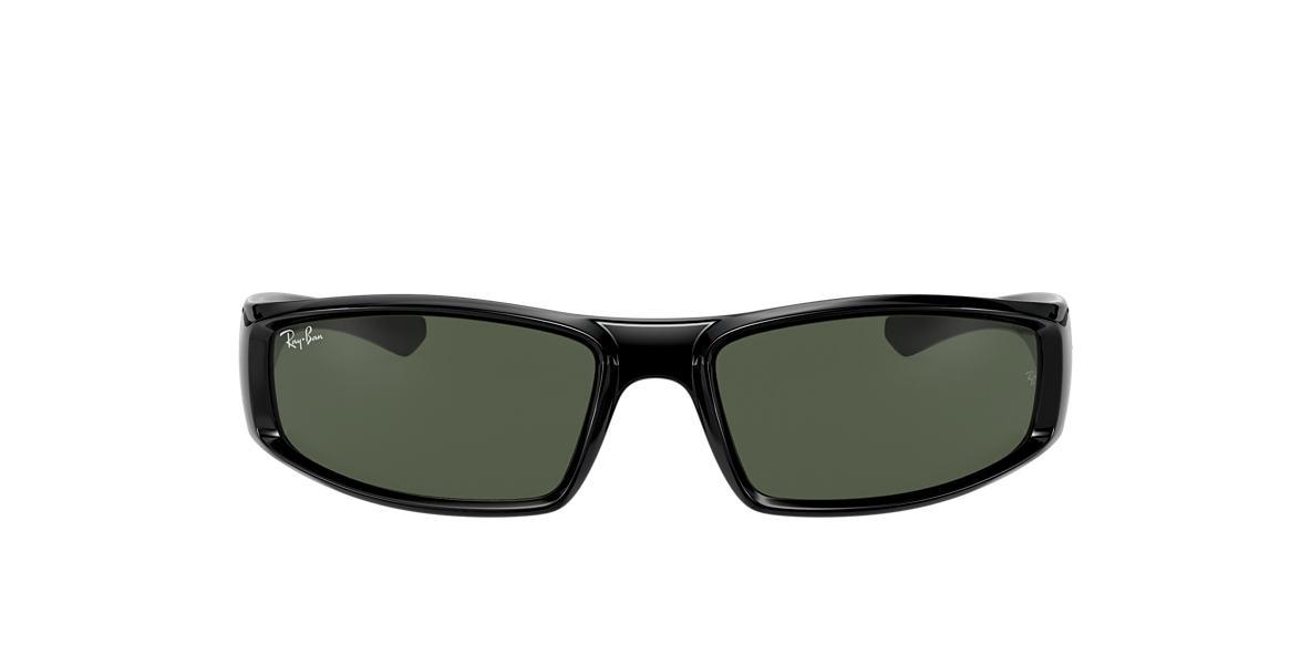 Black RB4335 Green  58