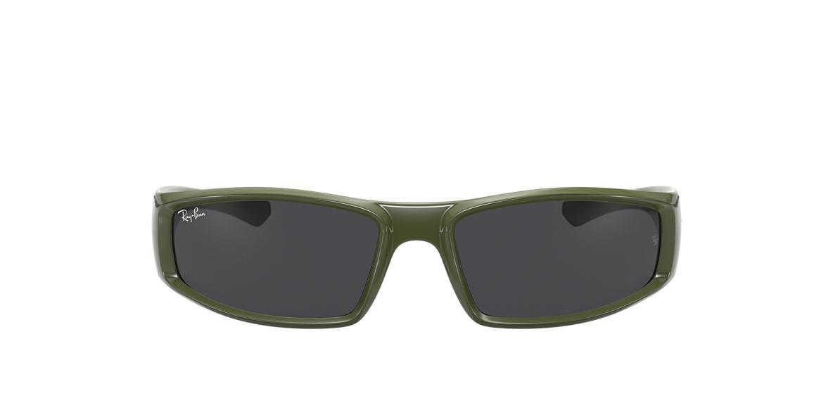 Green RB4335 Grey-Black  58