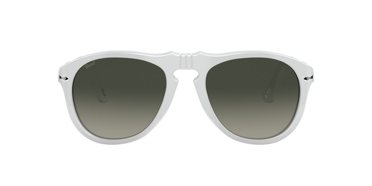 White PO0649 Persol x A.P.C. Grey-Black