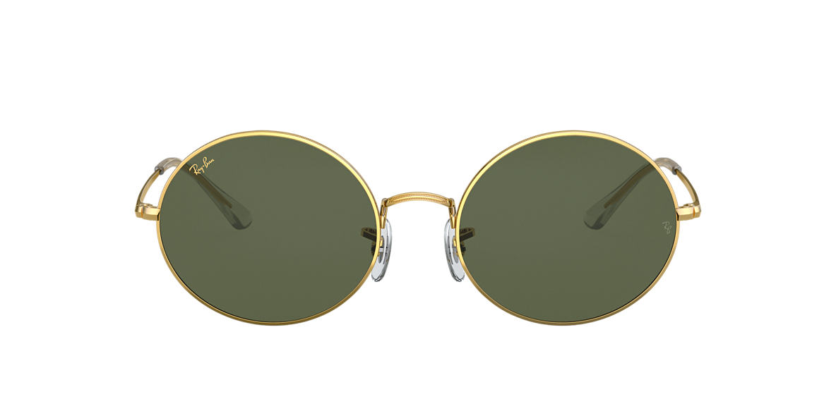 Oro RB1970 OVAL 1970 LEGEND GOLD Verde  54