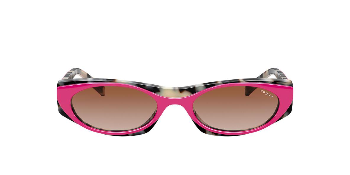 Pink VO5316S MBB X VOGUE EYEWEAR Brown Gradient