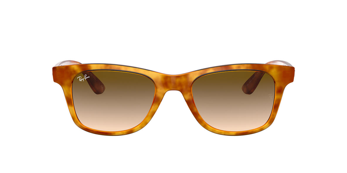 Yellow Havana RB4640 Brown Gradient  50