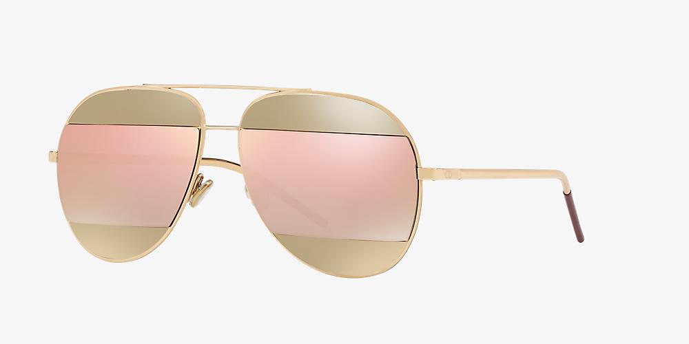 de6a6674e45b Christian Dior SPLIT1 59 Pink & Rose Gold Sunglasses | Sunglass Hut USA