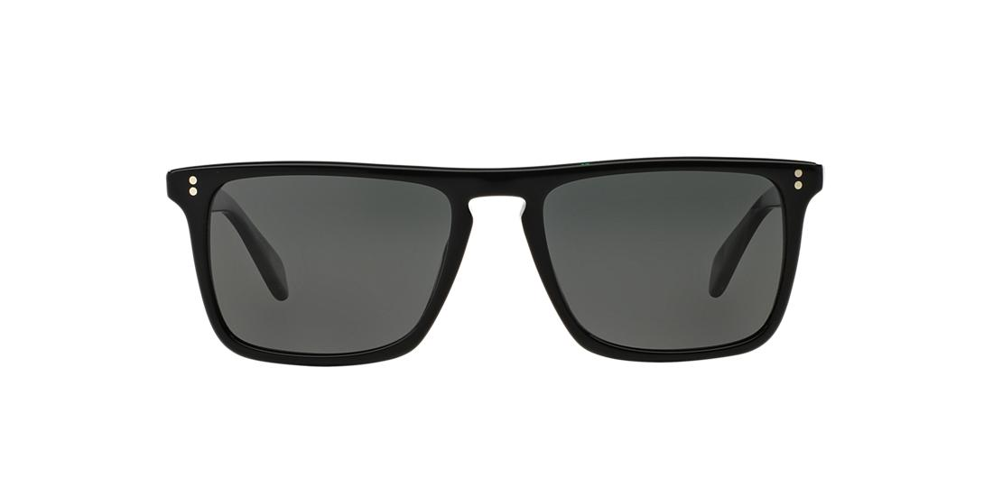 0f9b41c8d64 Oliver Peoples OV5189S 54 Grey-Black   Black Polarized Sunglasses ...