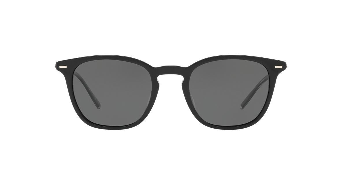 4485b87a4825e Oliver Peoples OV5364SU 51 Grey-Black   Black Polarised Sunglasses ...