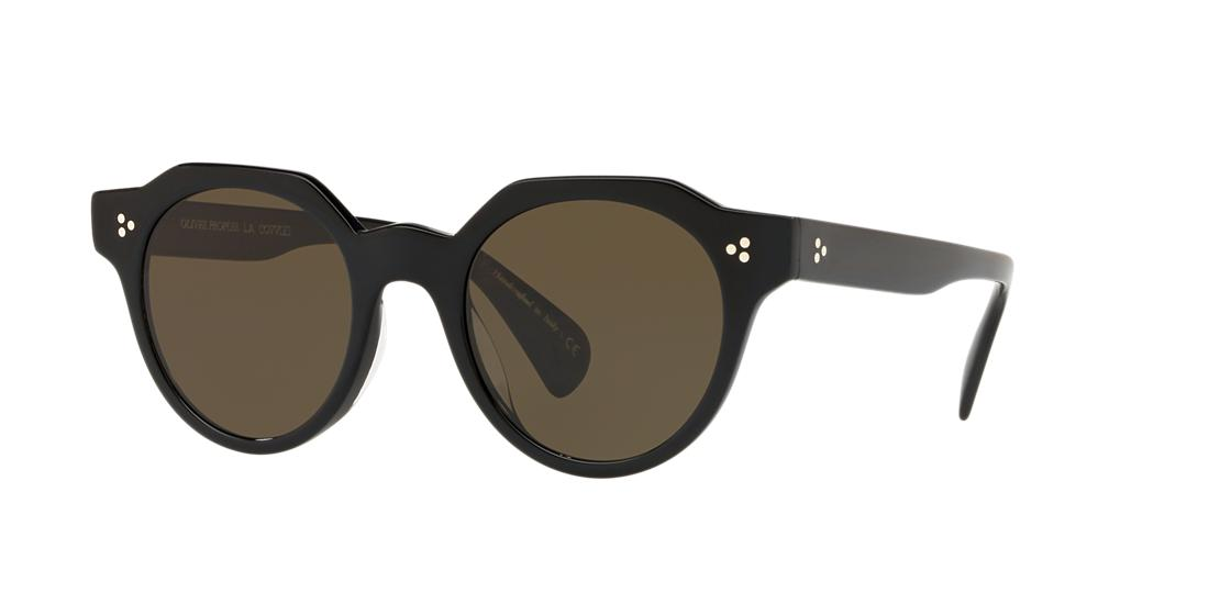 Oliver Peoples Unisex  OV5378SU IRVEN -  Frame color: Black, Lens color: Green, Size 50-22/145