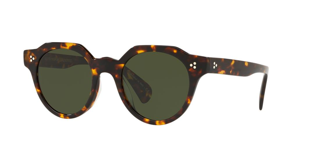 Oliver Peoples Unisex  OV5378SU IRVEN -  Frame color: Tortoise, Lens color: Green, Size 50-22/145
