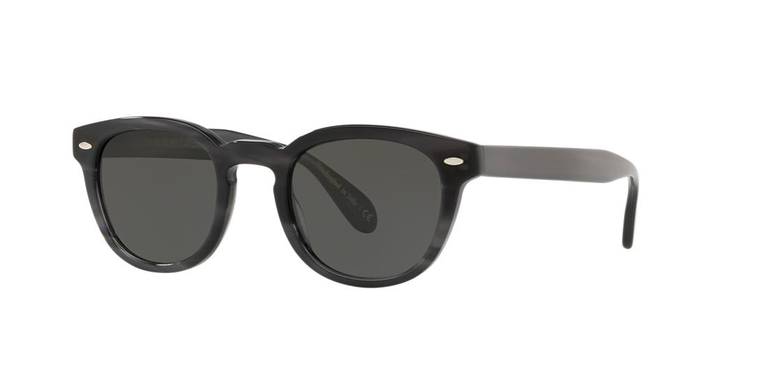 Oliver Peoples Man  OV5036S Sheldrake Sun -  Frame color: Tortoise, Lens color: Grey-Black, Size 47-22/145