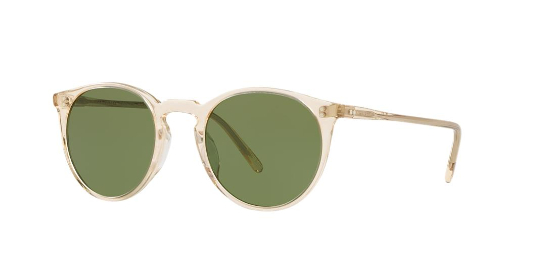 Oliver Peoples Man  OV5183S O'malley Sun -  Frame color: Honey, Lens color: Green, Size 48-22/145