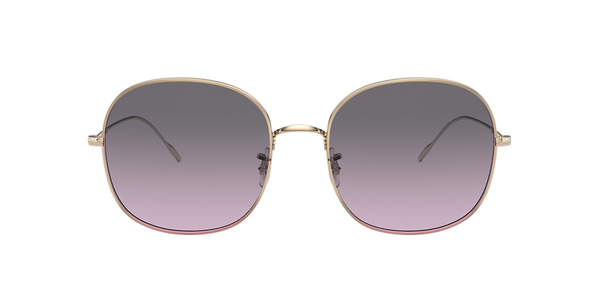 Gold OV1255S Mehrie Grey-Black  57