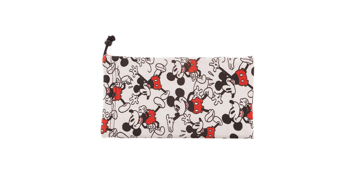 Black Mickey M90th Pouch Red