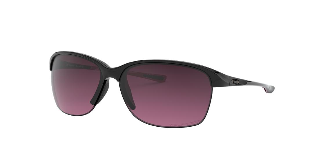 773387215e2 Oakley OO9191 65 Pink   Black Polarized Sunglasses