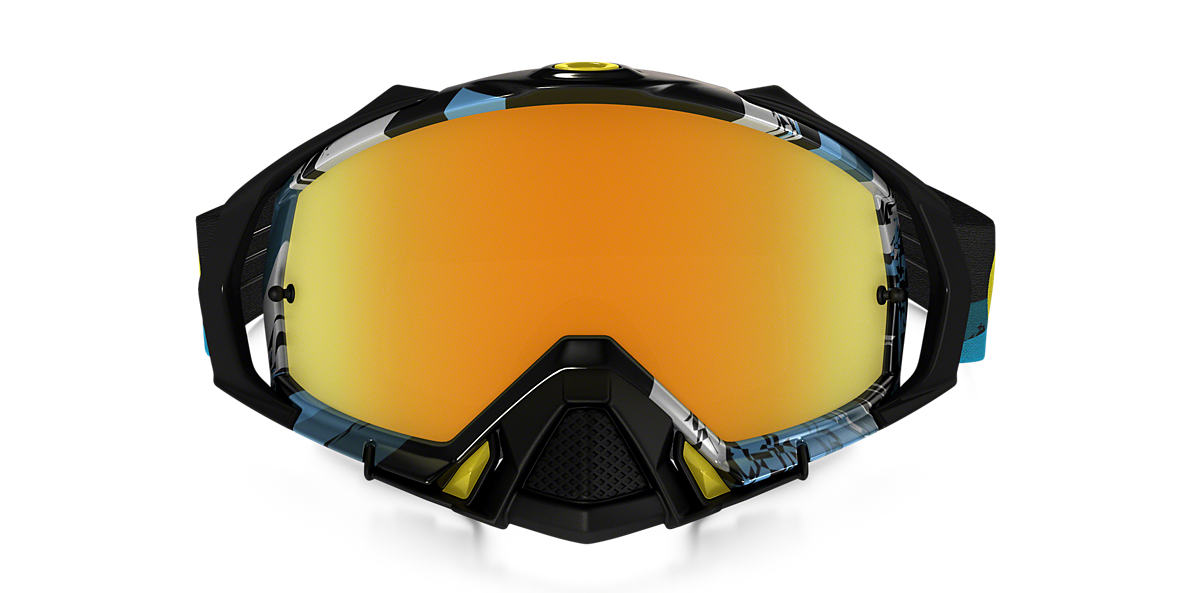 Blue OO7051 Mayhem™ Pro MX Goggle Gold