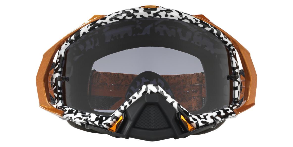 Gold OO7051 Mayhem™ Pro MX Goggle Grey-Black