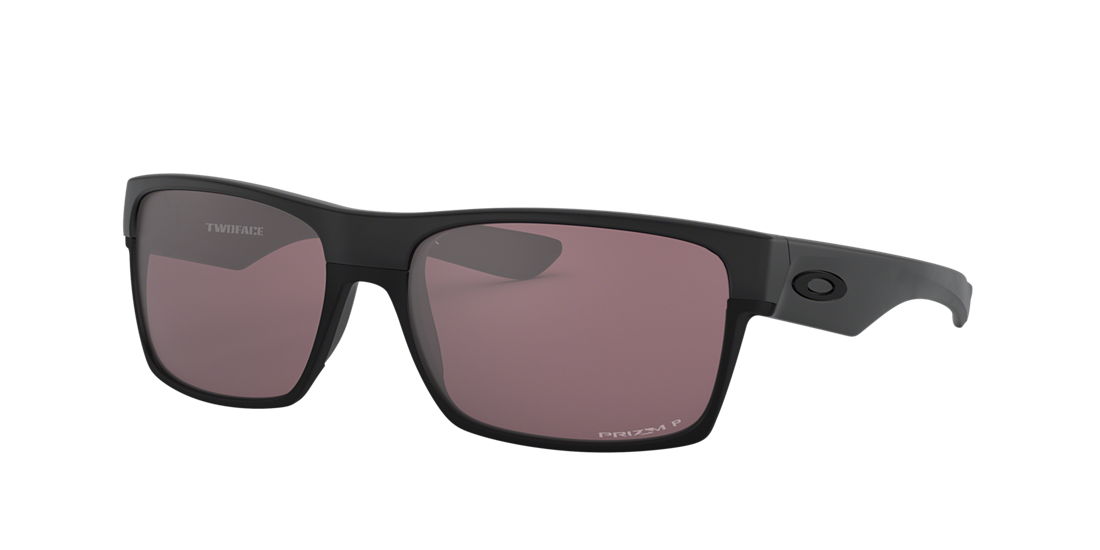 7d81311d70c Oakley OO9189 TWOFACE PRIZM DAILY 60 Silver   Black Polarized ...