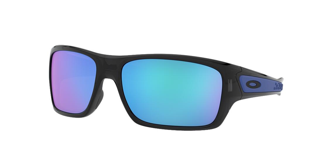e72a6183b0 Oakley OO9263 TURBINE 65 Blue   Black Sunglasses